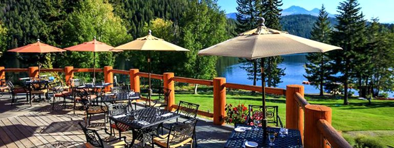 Tyax Lodge Outdoor Patio